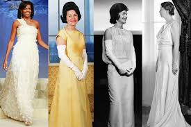 Ball Dresses First Lady Inaugural Ball Gowns Through The Years Photos Vanity Fair