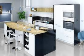 cuisine 9m2 avec ilot implantation cuisine avec ilot central en photo intéressant cuisine