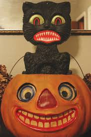132 best halloween vintage decor images on pinterest vintage