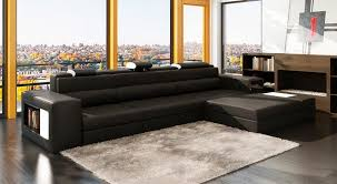 Gray Leather Sectional Sofa Grey Leather Sectional Polaris Mini Leather Sectionals