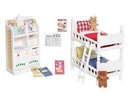 Childrens Bedroom Amazon Com Calico Critters Children U0027s Bedroom Set Toys U0026 Games