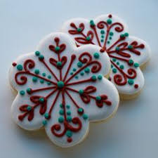 santa faces u0026 snowflakes cookies pinterest santa face face