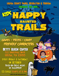 happy haunted trails for kids louisa county va