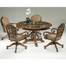 kitchen table with swivel chairs magnificent kitchen table with swivel chairs interesting and casters