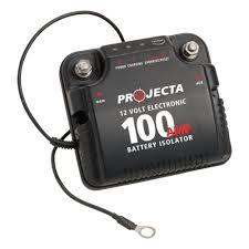 12v 100a electronic isolator projecta