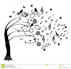 music note tree musical tree ink pinterest music notes