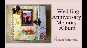 anniversary album anniversary memory album scrapbook wedding anniversary