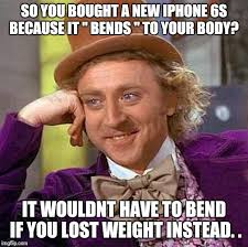 New Iphone Meme - creepy condescending wonka meme imgflip