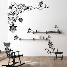 wall designs stickers wall designs stickers butterfly vine flower