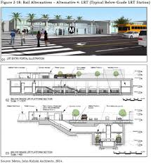 Union Station Floor Plan East San Fernando Valley Transit Corridor Takes Another Step