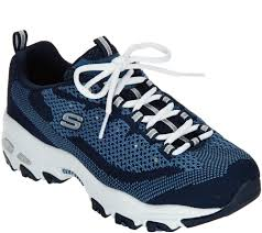 home sketcher ultimate skechers d u0027lites flat knit lace up sneaker reinvention page 1