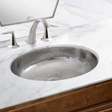 oval undermount bathroom sink nantucket sinks hand hammered stainless steel oval undermount
