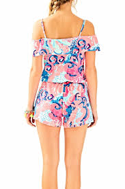 Reagan S Sunbeam Rug Lilly Pulitzer Klea Romper From Sandestin Golf And Beach Resort By