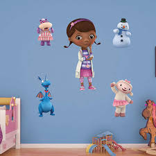 Wall Decal Cute Girl Home Decor Doc Mcstuffins Wall Decals Doc