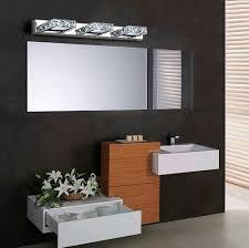 bathroom crystal light fixtures fashion modern crystal wall sconce bathroom wall l led mirror
