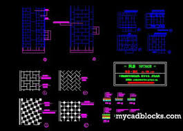 concrete paving autocad blocks autocad drawing autocad dwg and
