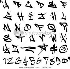 draw graffiti letters alphabet label graffiti numbers ideas