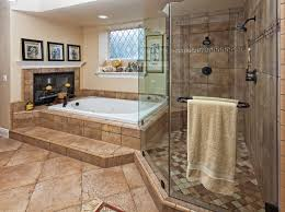 master bathroom tile ideas tub and shower master bathroom with fireplace tile styles for
