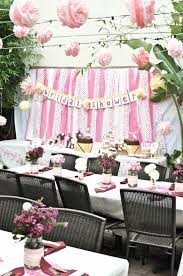 Bridal Shower Centerpiece Ideas by Chocolate Cake At California Bridla Shower Adorned With Hello