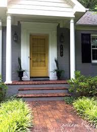 color scheme exterior house colors with brick google search