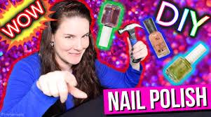 diy nail polish super cheap salon manicure youtube