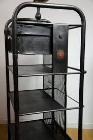 meuble de metier industriel table desserte métal industrielle meuble de métier indus