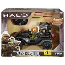 nerf remote control tank tyco halo warthog oni anti tank radio control vehicle mattel