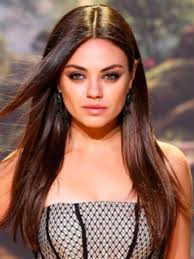 medium length haircuts for 20s female mid length hairstyles best 20s haircut mila kunis pics