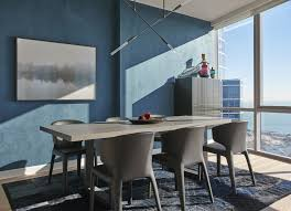 Home Blue Modern Blues Chicago Designer Gives Classic Color A Downtown
