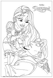 dessins de coloriage disney princess à imprimer