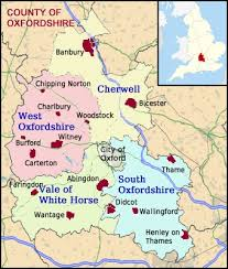 map uk villages villages in oxfordshire