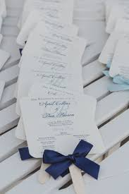 fan wedding program template navy wedding programs wedding program fans nautical wedding