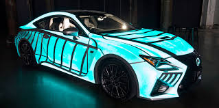 lexus rc f price in ksa lexus rc f with heartbeat displaying paint unveiled photos 1 of 1