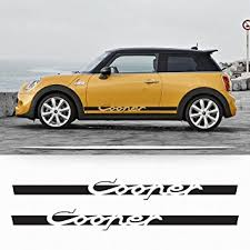 mini cooper porsche amazon com mini cooper s f56 2014 2016 side stripes graphics