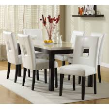 Dining Room Chair Set Emejing White Dining Room Chairs Gallery Liltigertoo With The Most