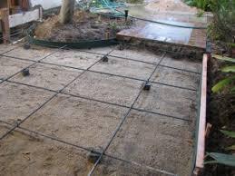 Patio Foundation Concrete Universal Builders