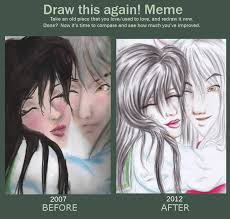 Inuyasha Memes - inuyasha and kagome before and after meme by ebsie on deviantart
