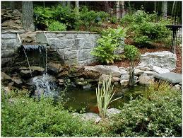 garden waterfalls uk home outdoor decoration