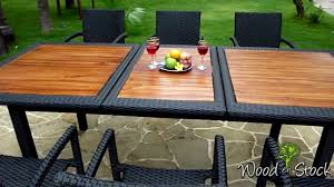 Maison Du Monde Table De Jardin by Table Basse Salon Jardin Resine Tressee U2013 Phaichi Com