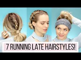 hair styles for in late 30 7 running late hairstyles youtube especially love at 3 30