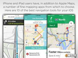 best ios mapping applications for your iphone or ipad
