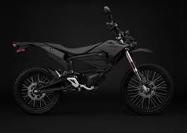 electric motorcycle zero fx electric motorcycle black profile right
