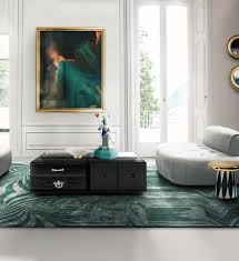 livingroom soho green rug on top of the rug is the gorgeous soho coffee table by