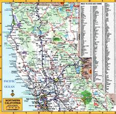 california map detailed national parks of california state
