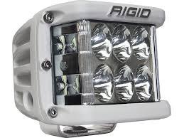 rigid industries led driving lights rigid industries d ss side shooter led light quadratec