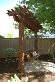 Backyard Arbor How To Build A Diy Pergola Hammock Stand In A Weekend For Under