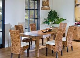 rattan dining room chairs provisionsdining co
