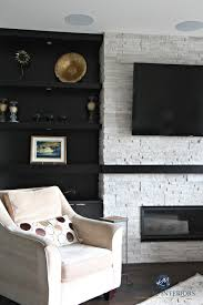 decorating built ins contemporary modern fireplace with dark wood built ins and