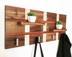 wood coat rack etsy