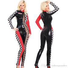 racing jumpsuit car racing costume sleeve jumpsuit